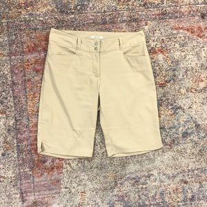 Adidas Khaki Golf Shorts (2)